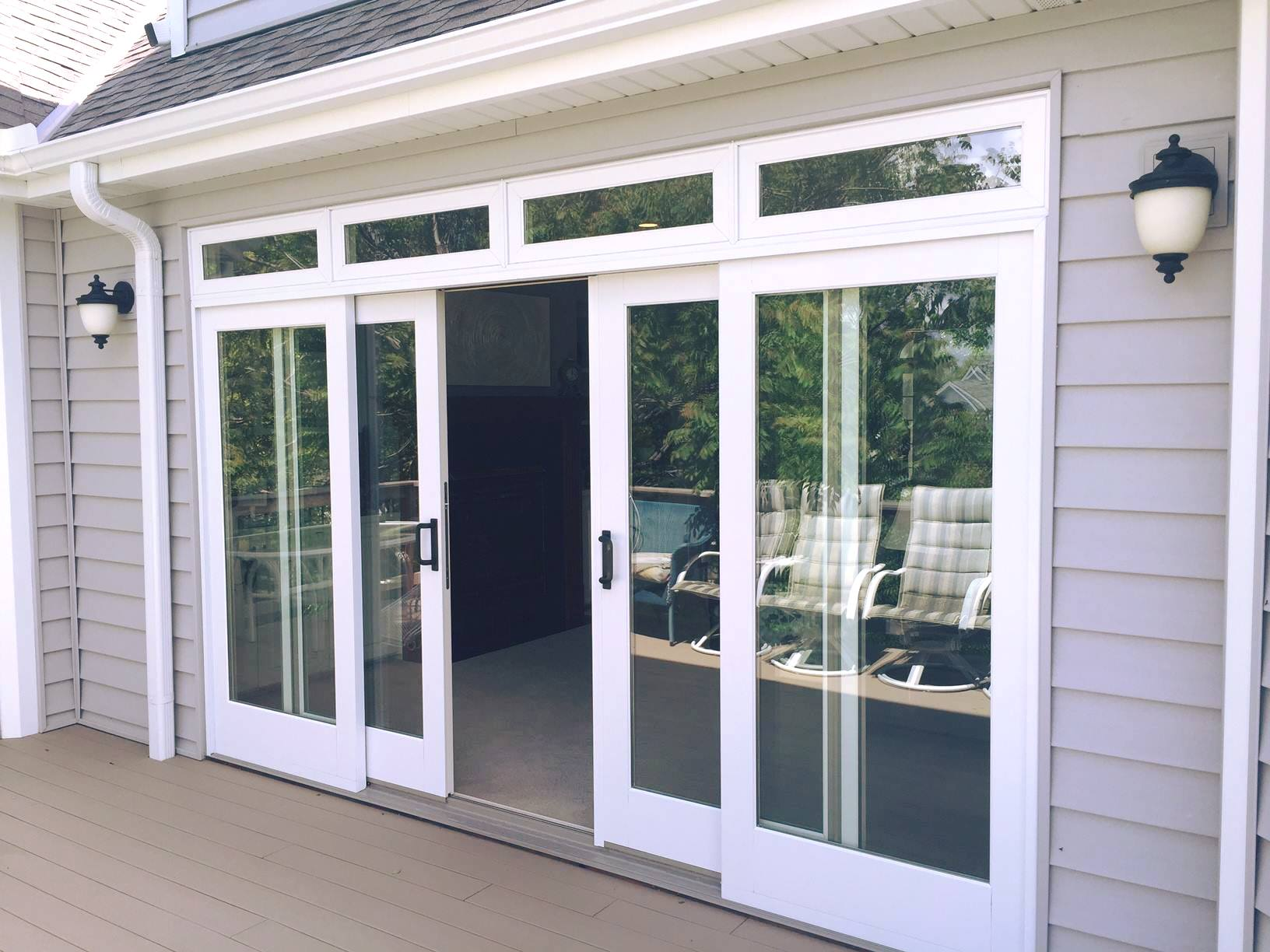 sliding glass doors lincoln