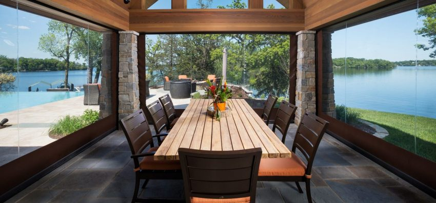 Phantom screens outdoor patio screens
